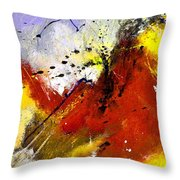 Abstract 693154 Throw Pillow