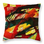 Abstract 73 Throw Pillow