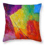Abstract 77411112 Throw Pillow