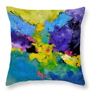 Abstract 7741301 Throw Pillow