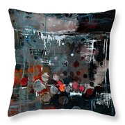 Abstract 77413022 Throw Pillow