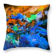 Abstract 783180 Throw Pillow