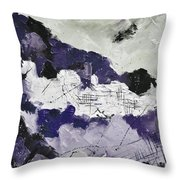 Abstract 7880 Throw Pillow
