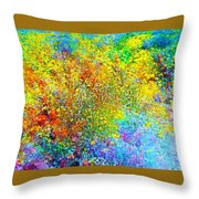 Abstract 96 Throw Pillow