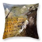 Abstract 96688 Throw Pillow