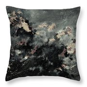 Abstract 9712072 Throw Pillow