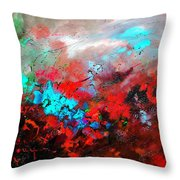 Abstract 975231 Throw Pillow