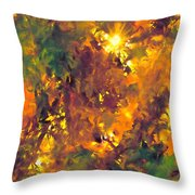 Abstract 98 Throw Pillow