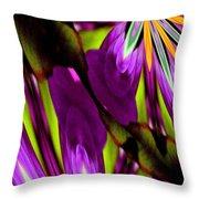 Abstract A03 Throw Pillow