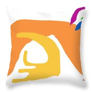 Abstract Ala Matisse 2 Throw Pillow