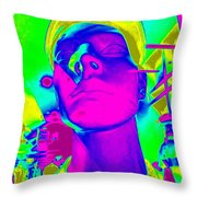 Abstract Andy Throw Pillow