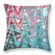 Abstract Approach Iv Throw Pillow