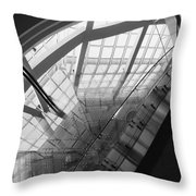 Abstract Architecture #2 Throw Pillow