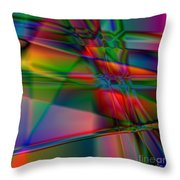 Lineage - Square Abstract Print Throw Pillow
