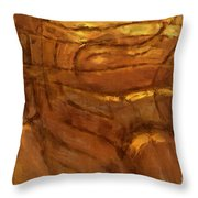 Behold - Abstract Art Throw Pillow