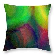 Journey - Abstract Art Throw Pillow