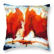 Abstract Art Forty-three Throw Pillow
