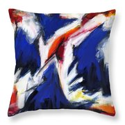 Abstract Art Forty-two Throw Pillow