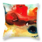 Abstract Art - No Limits - By Sharon Cummings Throw Pillow