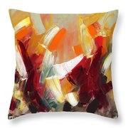 Abstract Art Sixty Throw Pillow