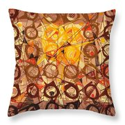 Abstract Art Sixty-six Throw Pillow