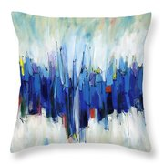 Abstract Art Sixty-two Throw Pillow
