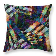 abstract - art - Tilt Two Throw Pillow