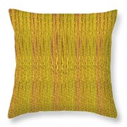 Abstract Autumn Forest Throw Pillow