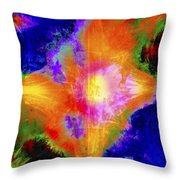 Abstract Series B1 Throw Pillow