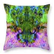 Abstract Series B4 Throw Pillow