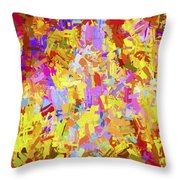 Abstract Series B6 Throw Pillow