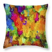 Abstract Series B7 Throw Pillow