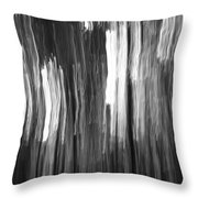 Abstract Black And White Composition Throw Pillow