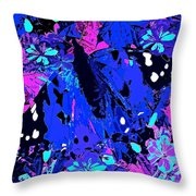 Abstract Butterfly #2 Throw Pillow