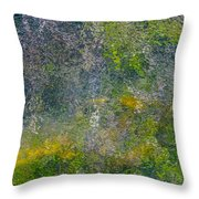Abstract By Nature Throw Pillow