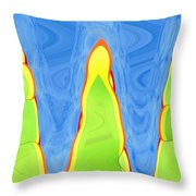 Abstract By Photoshop 12 Throw Pillow