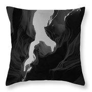 Abstract Canyon 2 Throw Pillow