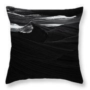 Abstract Canyon Throw Pillow