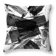 Abstract Chunky Throw Pillow