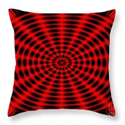 Abstract Circle Throw Pillow