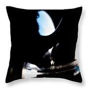 Abstract Cirrus Throw Pillow