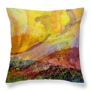 Abstract Collage No. 1 Throw Pillow