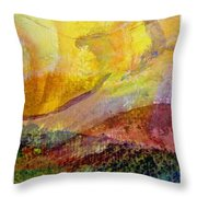 Abstract Collage No. 2 Throw Pillow