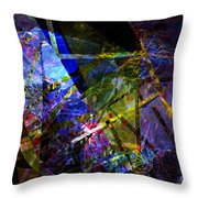 Abstract Composite 1 Throw Pillow