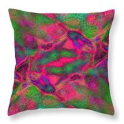 Abstract Connections 1 Throw Pillow
