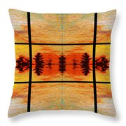 Abstract Cracker Tapestry Throw Pillow