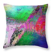 Abstract Cubed 1 Throw Pillow