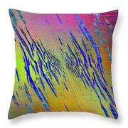 Abstract Cubed 105 Throw Pillow
