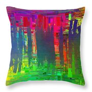 Abstract Cubed 113 Throw Pillow