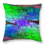 Abstract Cubed 114 Throw Pillow